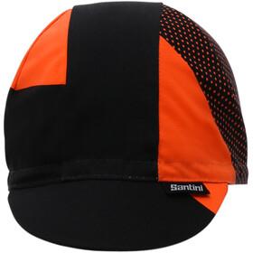 Santini Fase Cap arancio fluo